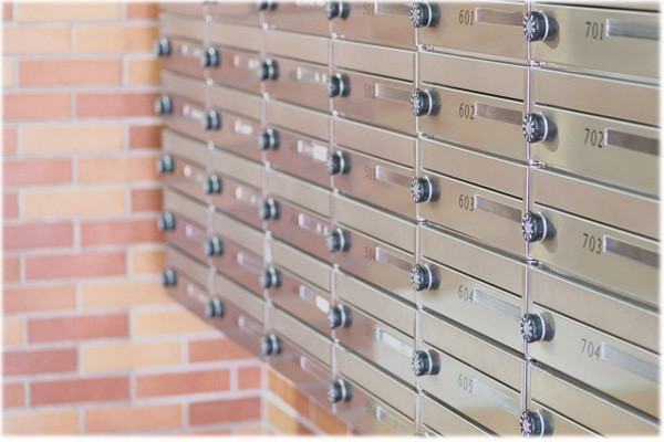 メール便と郵便受け