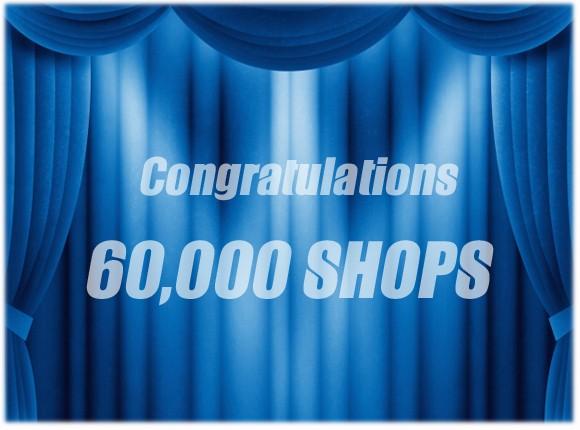 カラーミーショップ60000店舗